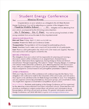 Student Energy Conference