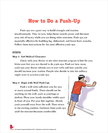 How to Do a Push Up