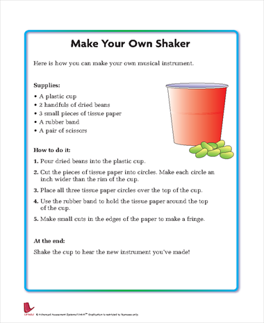 Make Your Own Shaker