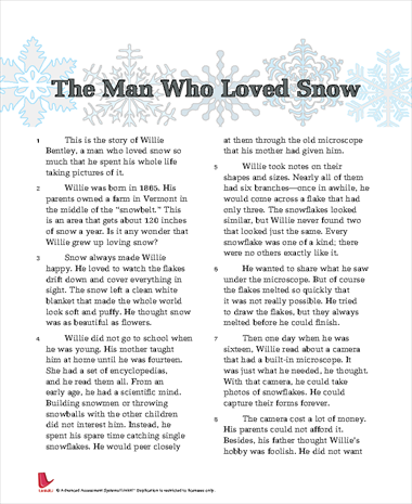 The Man Who Loved Snow