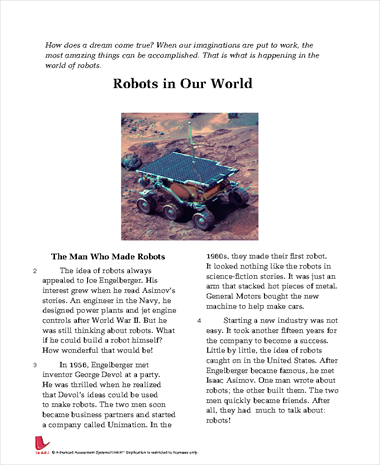 Robots in Our World