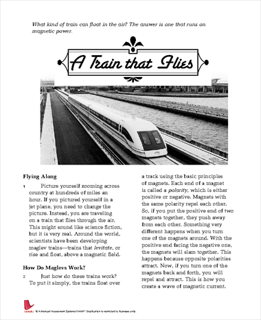 A Train that Flies