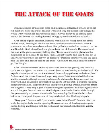 The Attack of the Goats