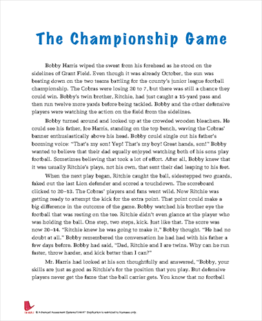 The Championship Game