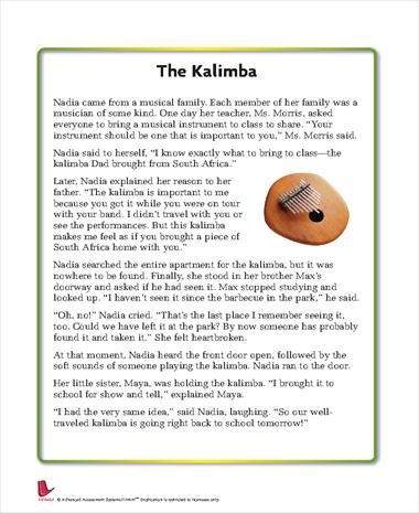 The Kalimba