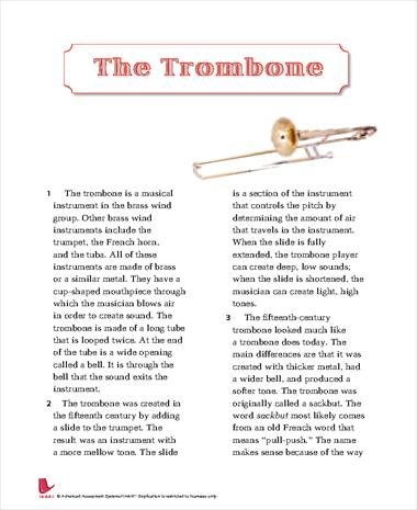 The Trombone