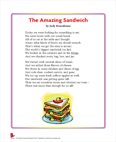 The Amazing Sandwich