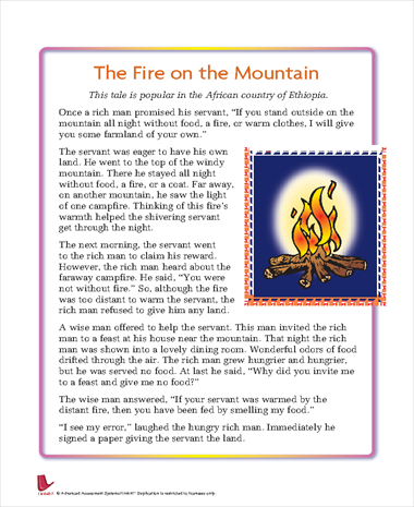 The Fire on the Mountain