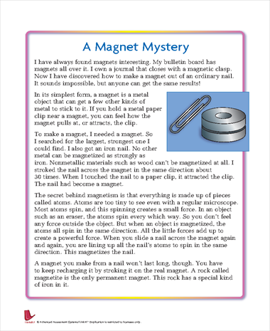 A Magnet Mystery