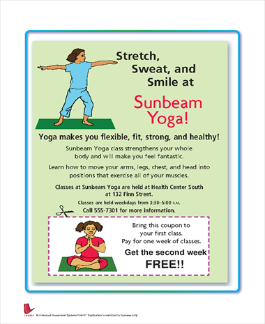 Stretch, Sweat and Smile at Sunbeam Yoga
