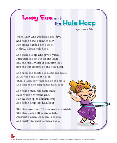 Lucy Sue and the Hula Hoop