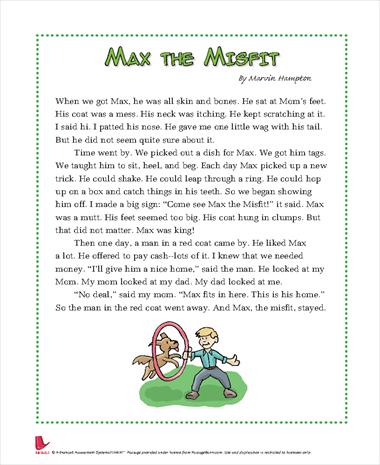 Max the Misfit