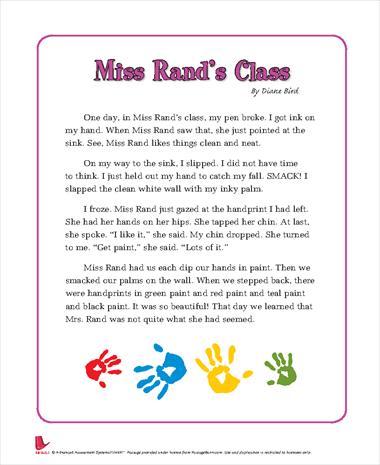Miss Rands Class