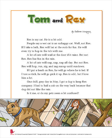 Tom and Rex