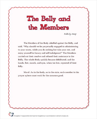 The Belly and the Members