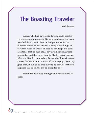 The Boasting Traveler