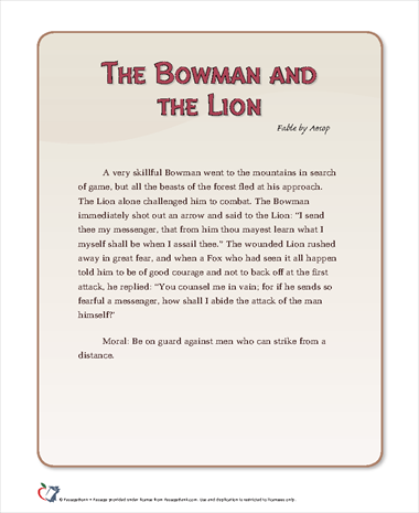 The Bowman and Lion