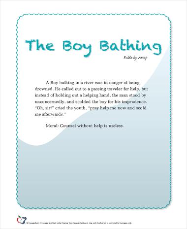 The Boy Bathing