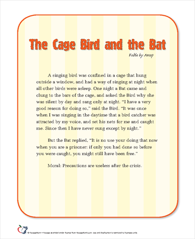 The Cage Bird and the Bat