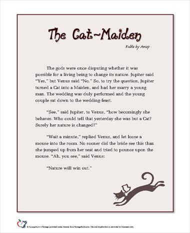 The Cat-Maiden