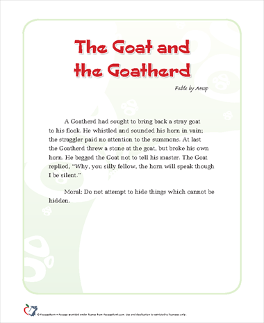 The Goat and the Goatherd