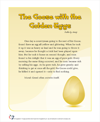 The Goose With the Golden Eggs