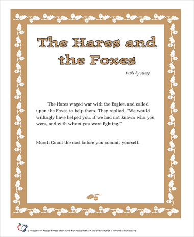 The Hares and the Foxes