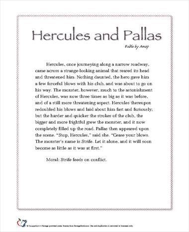Hercules and Pallas