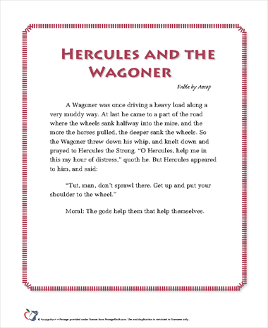 Hercules and the Waggoner