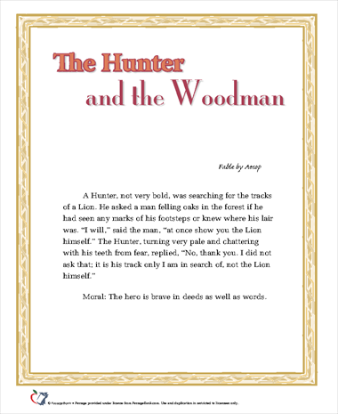 The Hunter and the Woodman
