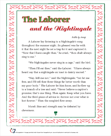 The Laborer and the Nightingale