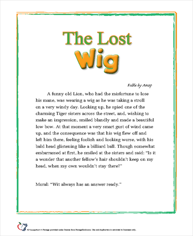 The Lost Wig