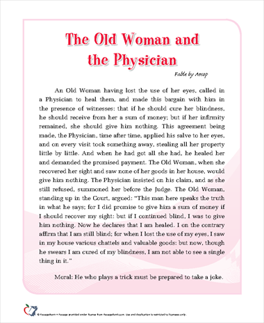 The Old Woman and the Physician