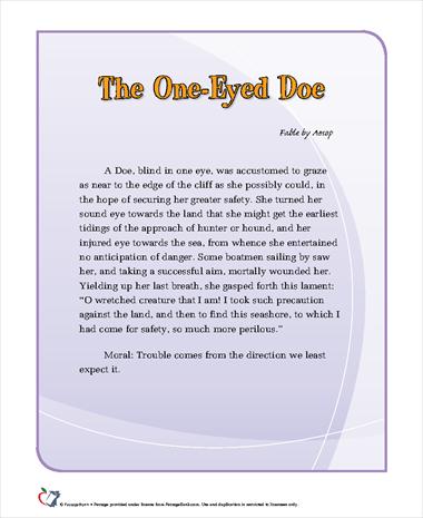 The One-Eyed Doe