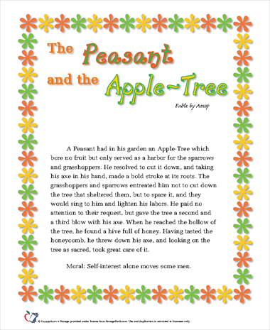 The Peasant and the Apple-Tree