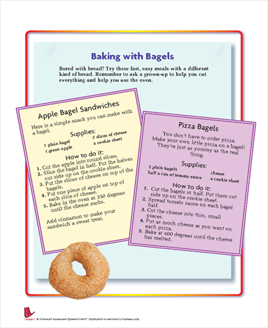 Baking with Bagels