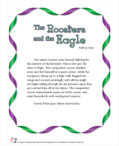 The Roosters and the Eagle