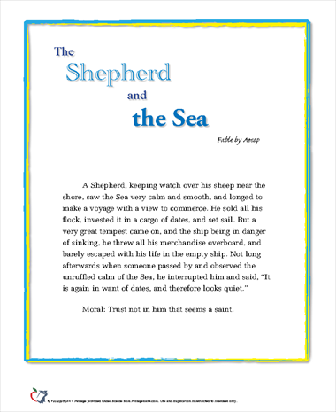 The Shepherd and the Sea