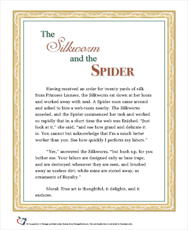 The Silkworm and Spider