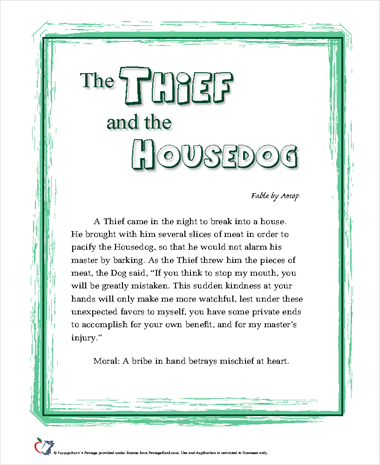 The Thief and the Housedog