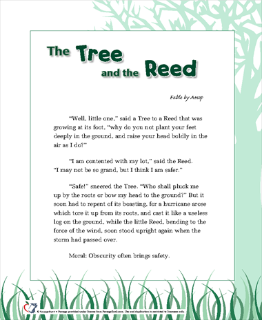 The Tree and the Reed