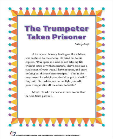 The Trumpeter Taken Prisoner