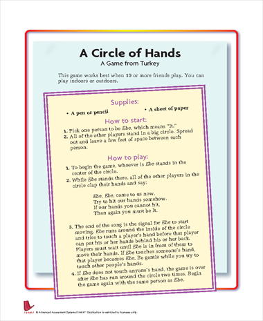 A Circle of Hands