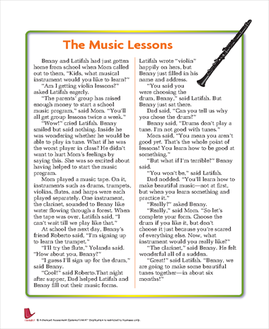The Music Lessons