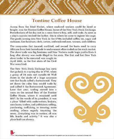 Tontine Coffee House