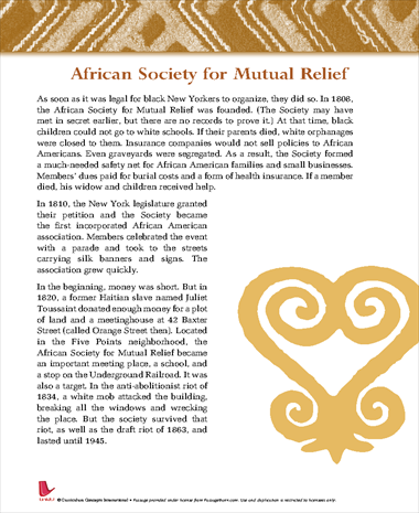 African Society for Mutual Relief