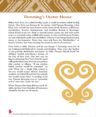 Downings Oyster House