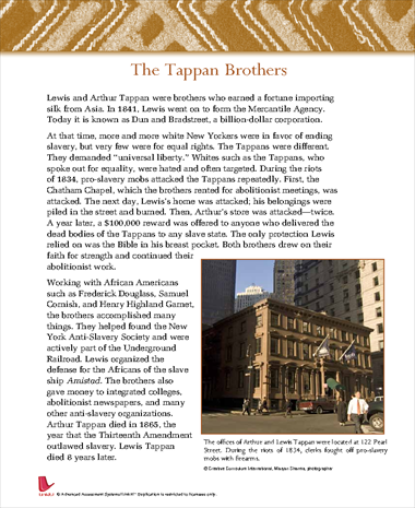 The Tappan Brothers