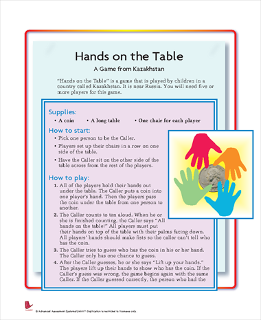 Hands On the Table