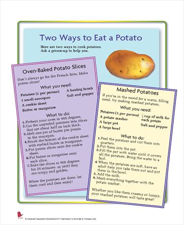 Two Ways to Eat a Potato